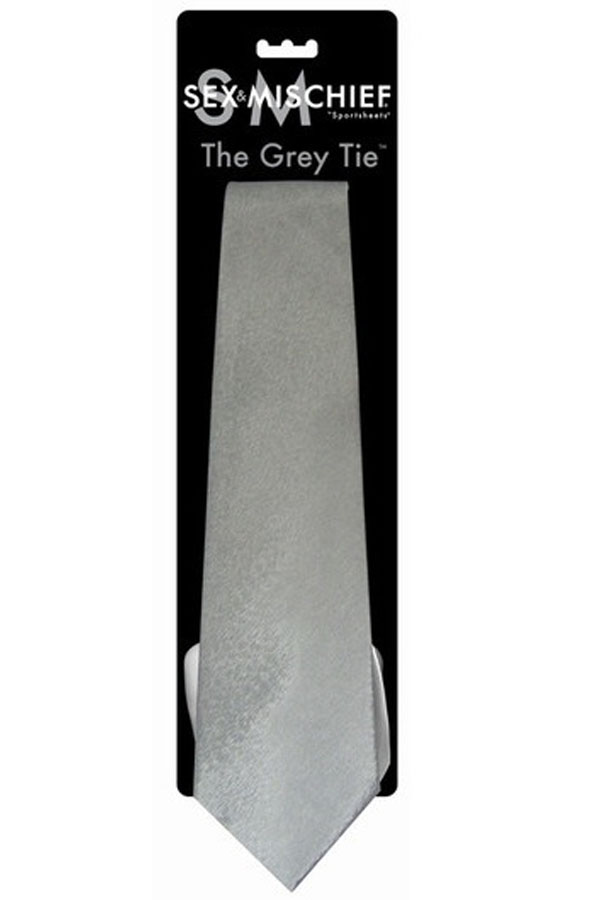 S&M The Grey Tie Kravata SPORT00077
